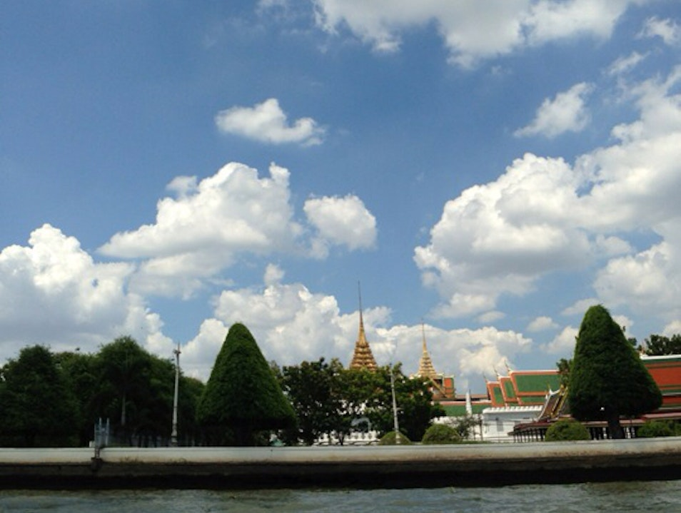 Boating Tour At Riverside In Bangkok