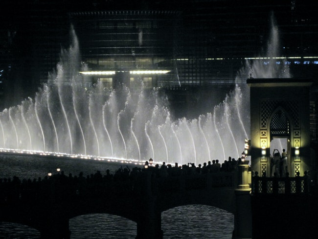 Fountain Dancing at the Dubai Mall