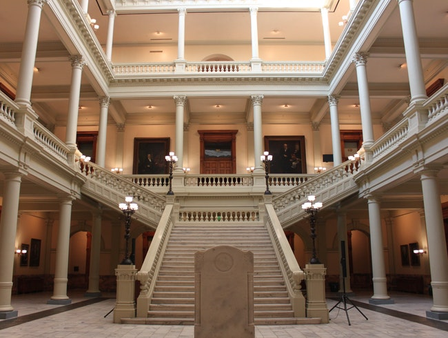 Touring the Georgia Capitol and Museum