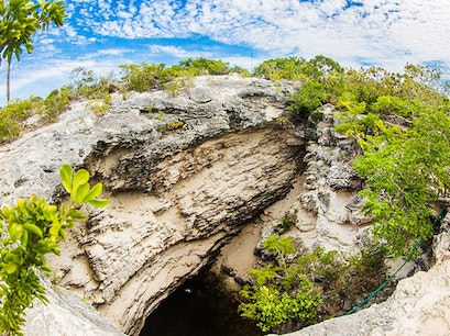 The Hole Long Bay Hills  Turks and Caicos Islands