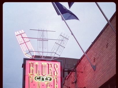 Blues City Cafe Memphis Tennessee United States