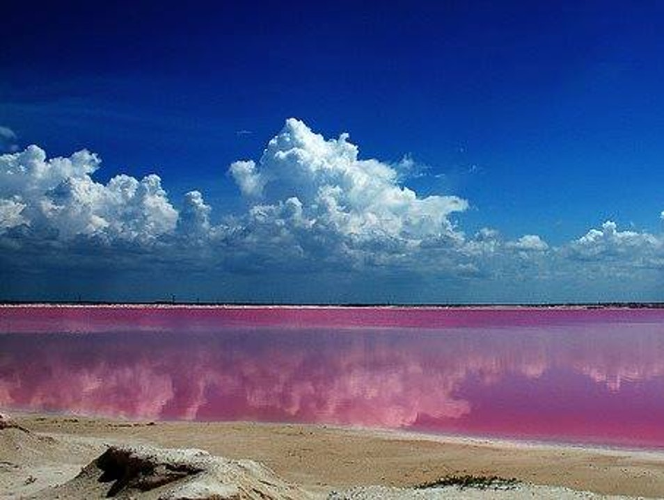 Las Coloradas: otherworldly landscapes in the Yucatan Heroica Puebla De Zaragoza  Mexico