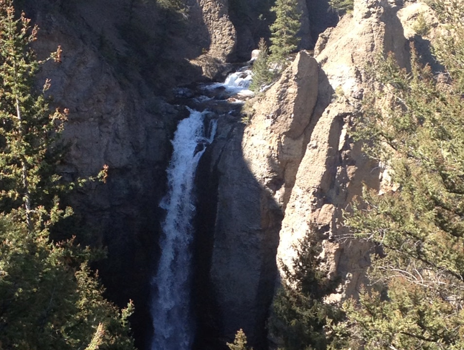 Quick Stop At Tower Fall Yellowstone National Park Wyoming United States