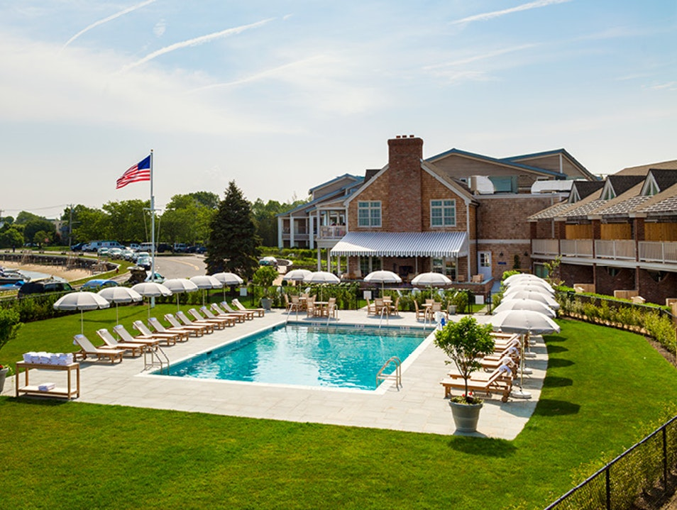 Baron's Cove's Casual Luxury Reconnects with Sag Harbor Sag Harbor New York United States