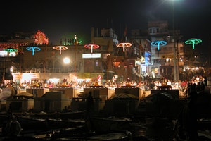 The Bhadaini Ghat