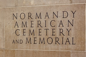 Normandy American Ceremony