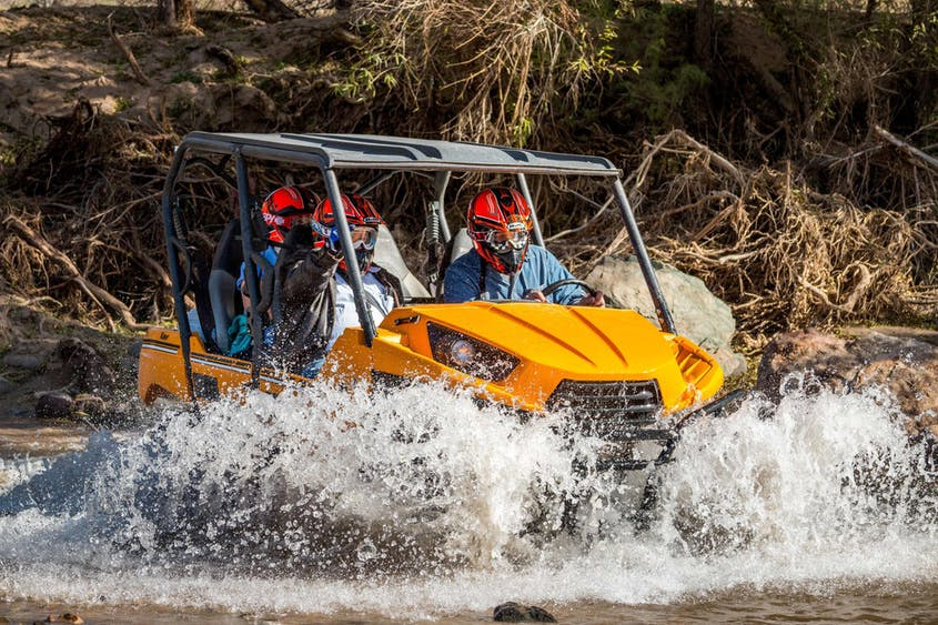 You'll learn about the area's past—plus see plenty of action—on an ATV tour with Arizona Outdoor Fun.