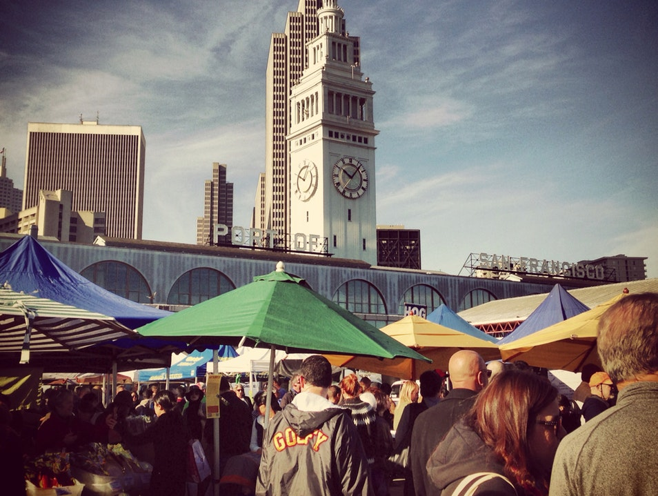 Saturday Farmers Market San Francisco California United States