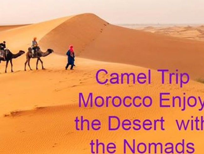 Camel Trekking & Night in the Desert Erg Chabbi Merzouga Morocco