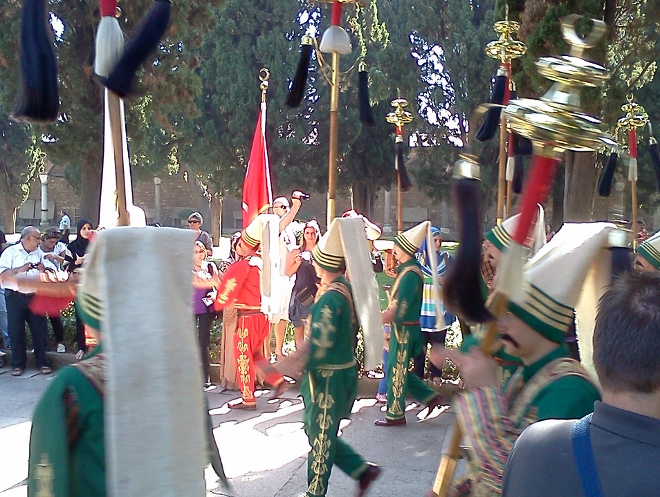 Topkapi Palace Surprise Parade Istanbul  Turkey