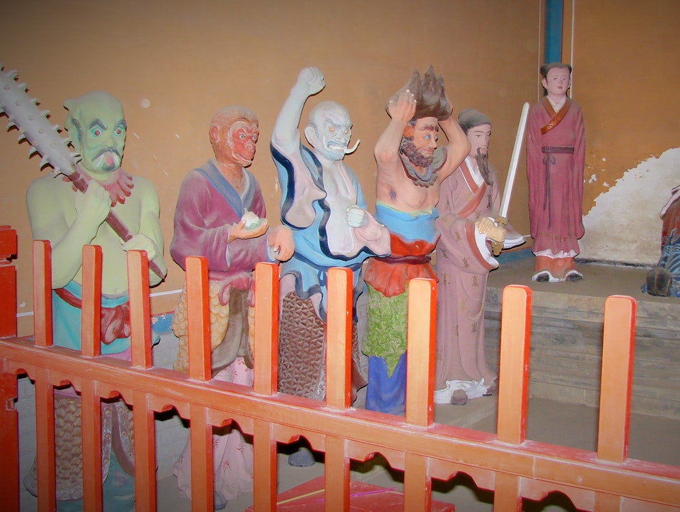 Glimpse Monsters Inhabiting the Taoist Hell Beijing  China