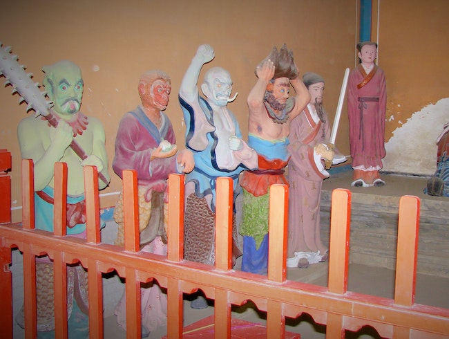 Glimpse Monsters Inhabiting the Taoist Hell