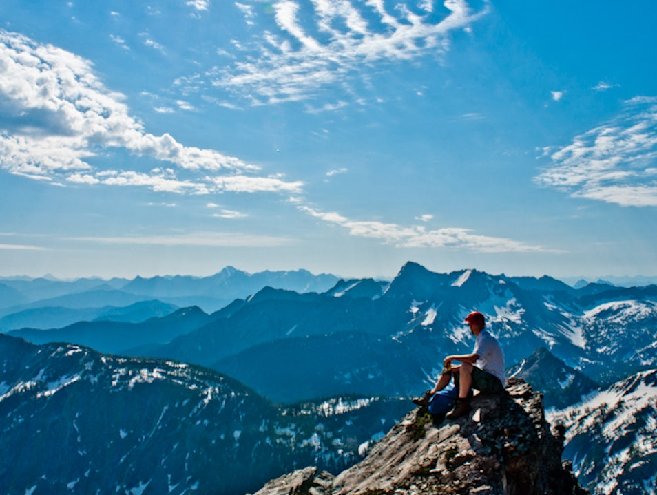 Climb Mount Fisher, One of the Highest Peaks in BC's Southern Rockies East Kootenay C  Canada