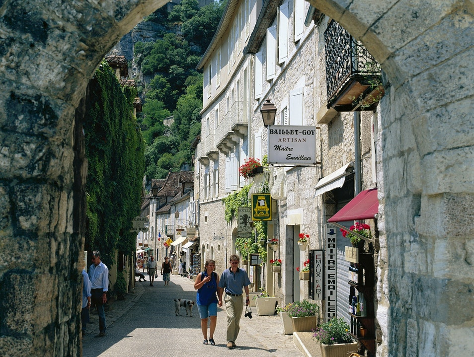Rocamadour: Shopping off the Food Rocamadour  France
