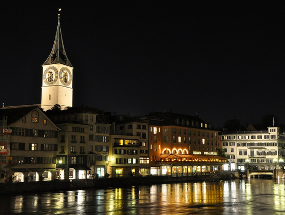 Zurich's Vibrant Nightlife Zurich  Switzerland