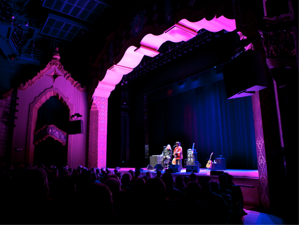 The Lensic Theater