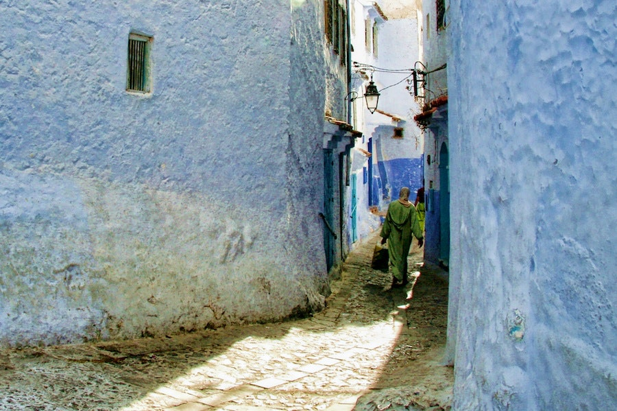 The Beautiful Colors of Morocco
