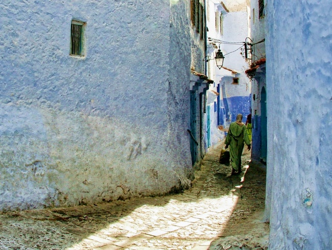 Feeling Blue in Morocco