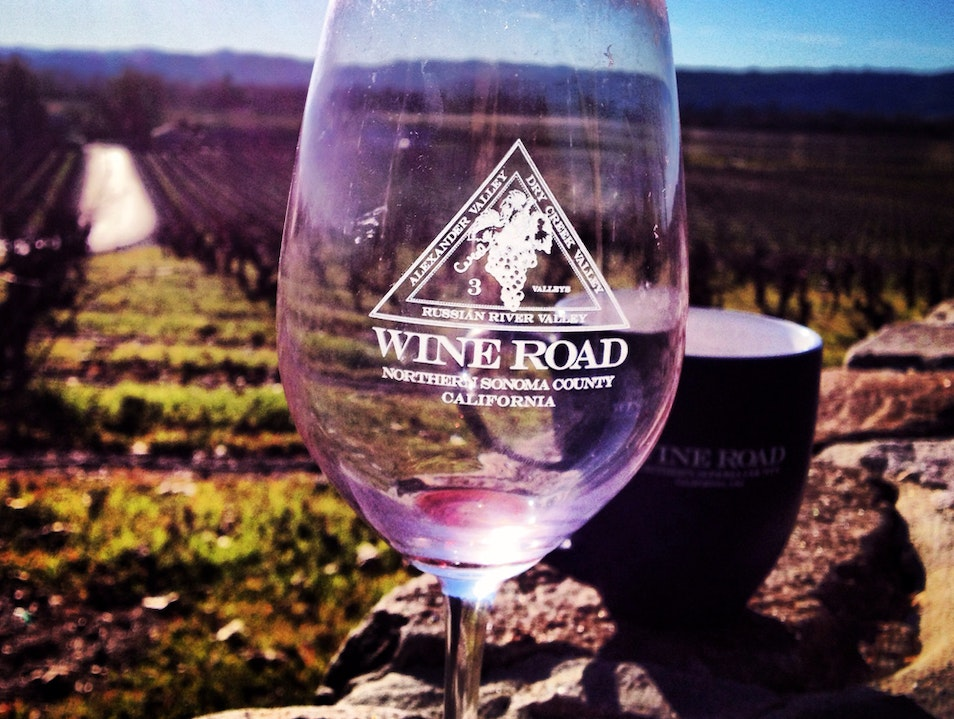 Touring Dry Creek And Alexander Valley Wineries