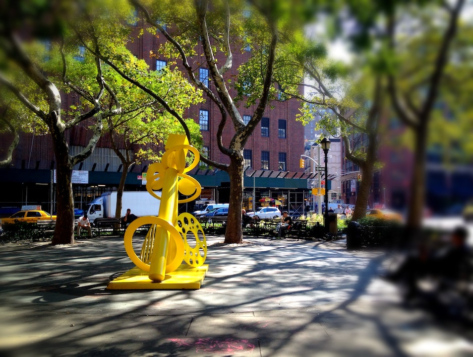 Discover Vibrant Art in NYC Parks