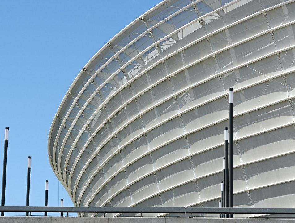Cape Town Stadium, Home to Festivals and Football  Cape Town  South Africa