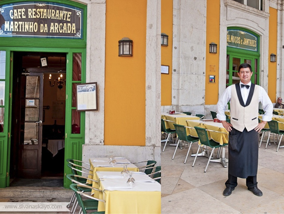 Martinho da Arcada, the Oldest Cafe in Lisbon  Lisbon  Portugal