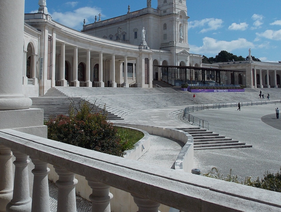 The Basilica in Fatima Fátima  Portugal