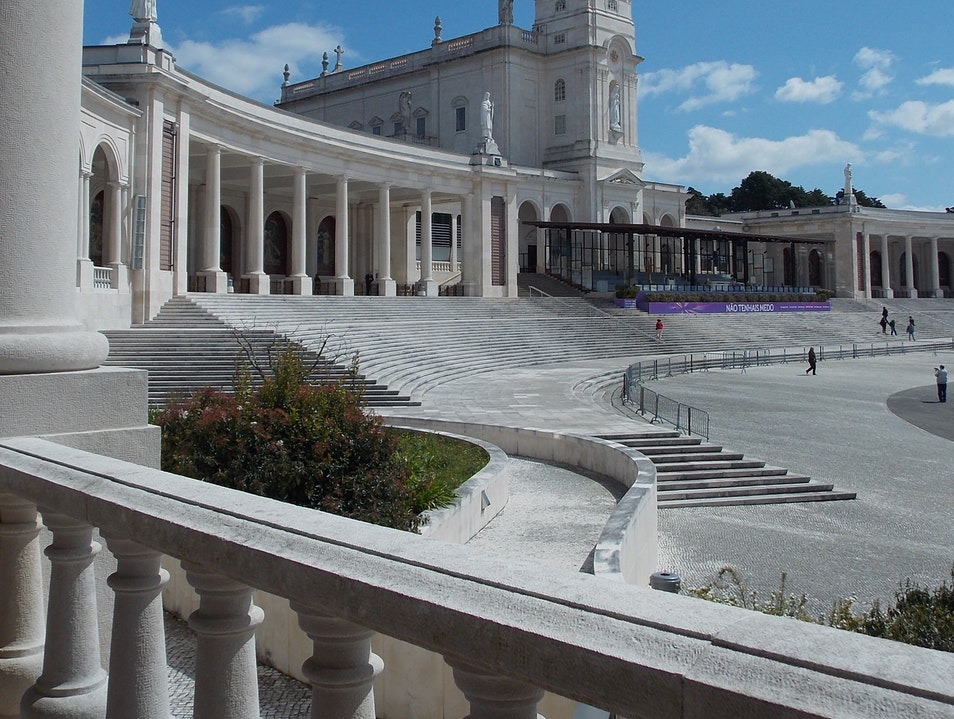 The Basilica in Fatima Cova Da Iria  Portugal