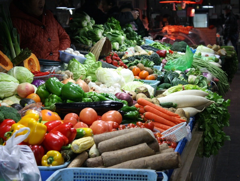 A Market of Color and Flavor