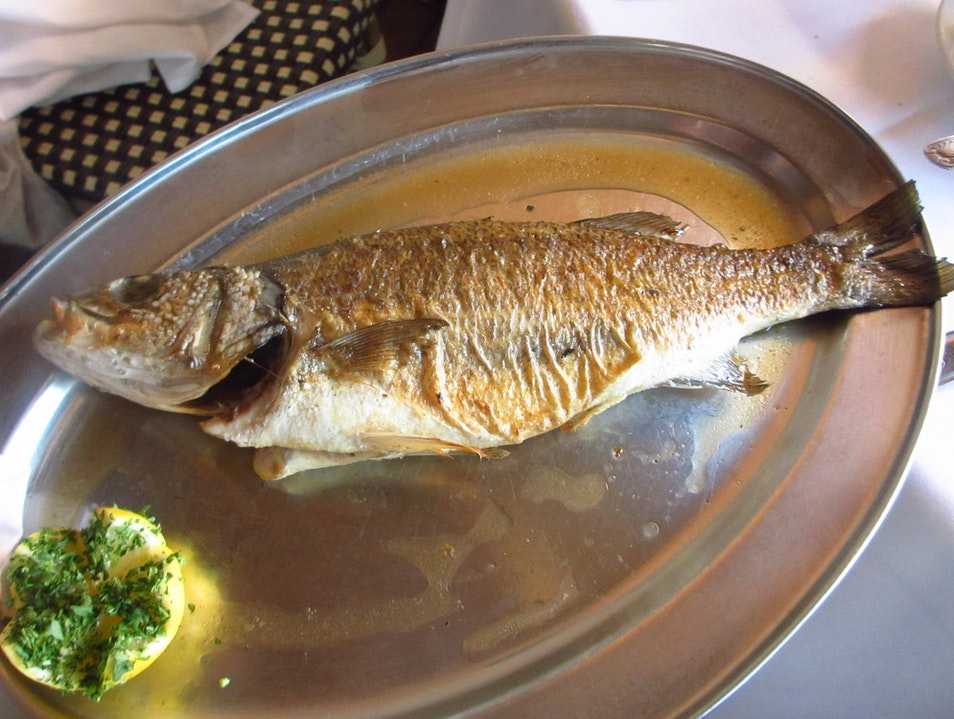 Whole Roasted Branzino Sarasota Florida United States