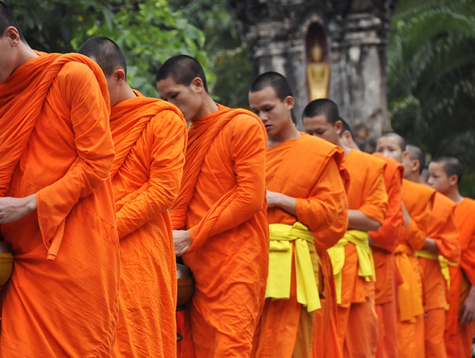 The Ancient Sunrise Ritual of Buddha's Disciples