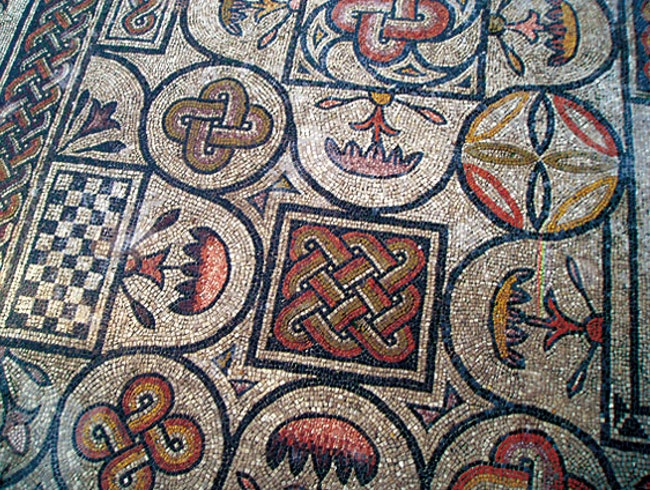 Ancient Roman Mosaics in Aquileia