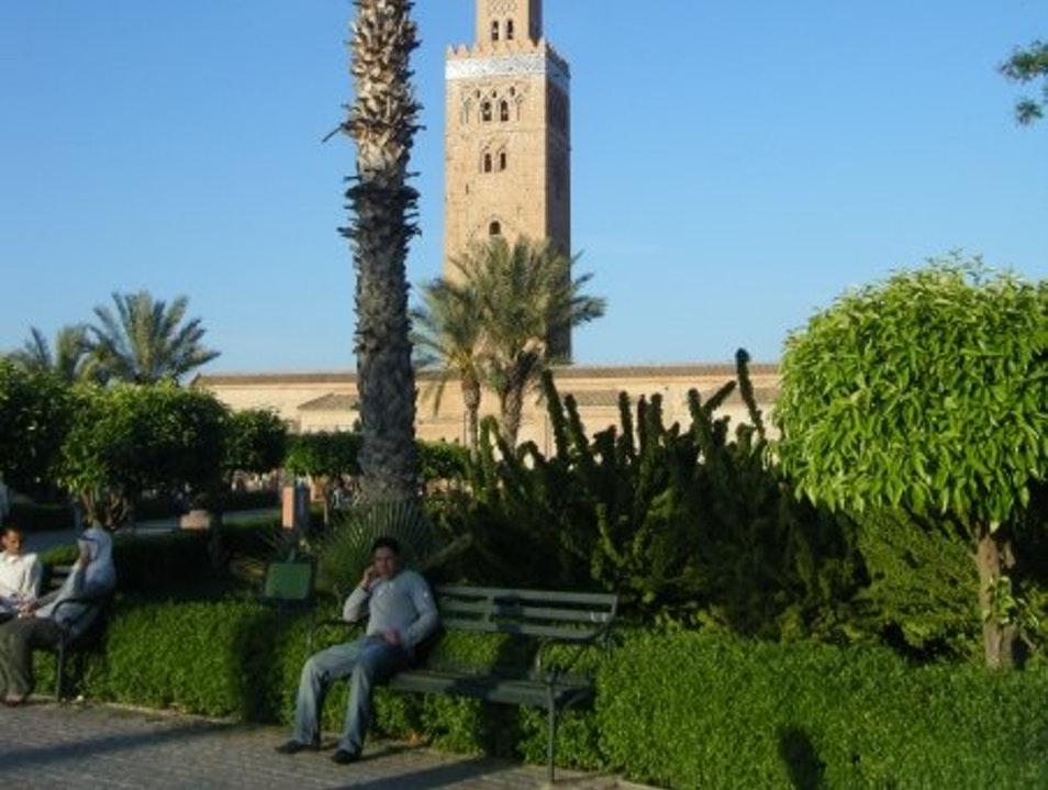 The Moorish Mosque Marrakech  Morocco