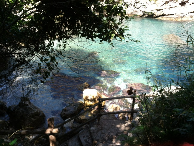 Sorrento's Secret Swimming Hole