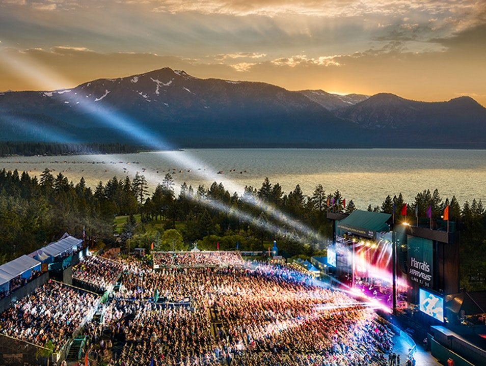 Lake Tahoe Summer Concert Series Lee Vining California United States