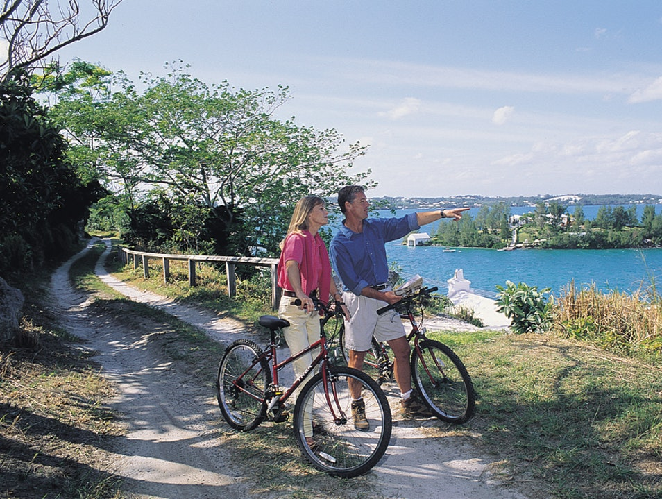 Hike and Bike the Bermuda Railway Trail  Warwick  Bermuda