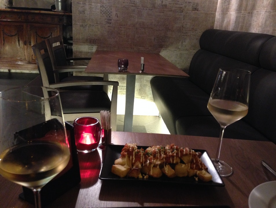 Modern takes on traditional tapas  Barcelona  Spain