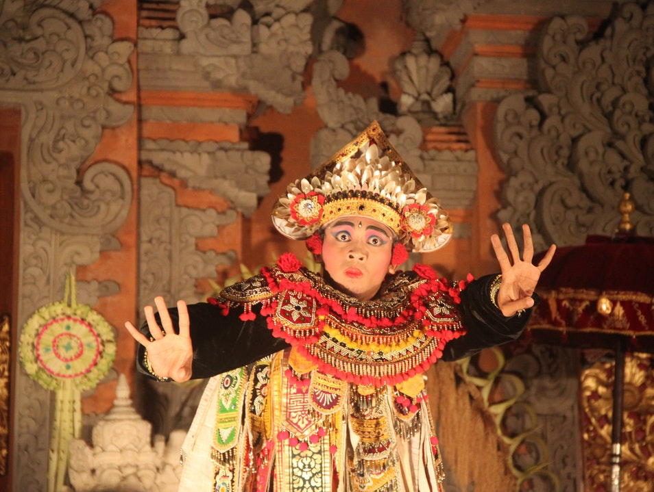 Barong Dance Ubud  Indonesia