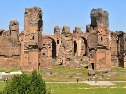 Baths of Caracalla Rome  Italy