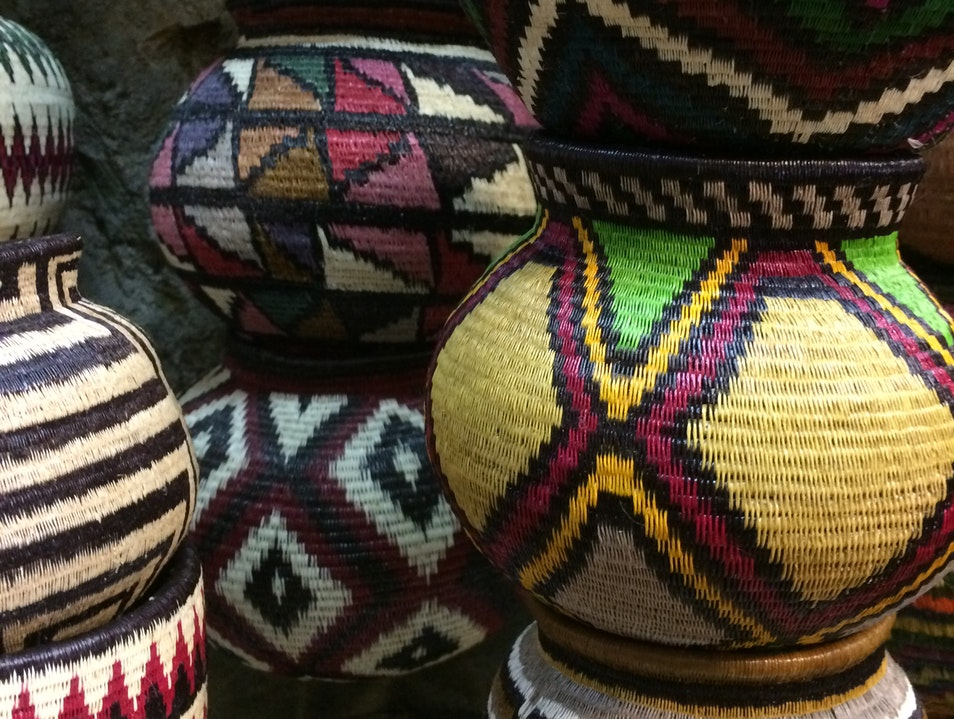 Embera baskets Panama City  Panama