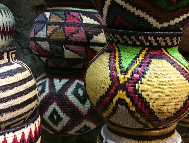 Embera baskets