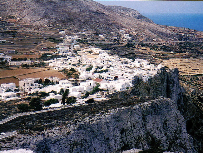Slowing Down in Folegandros