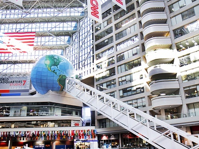 CNN Center Forsyth Georgia United States