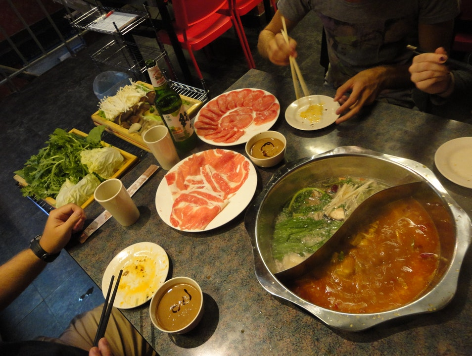 Sichuan hot pot Beijing  China