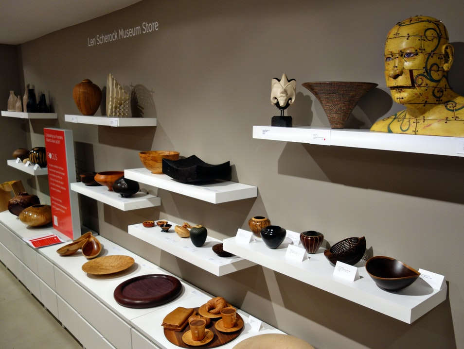 A wonderful wood art gallery and shop
