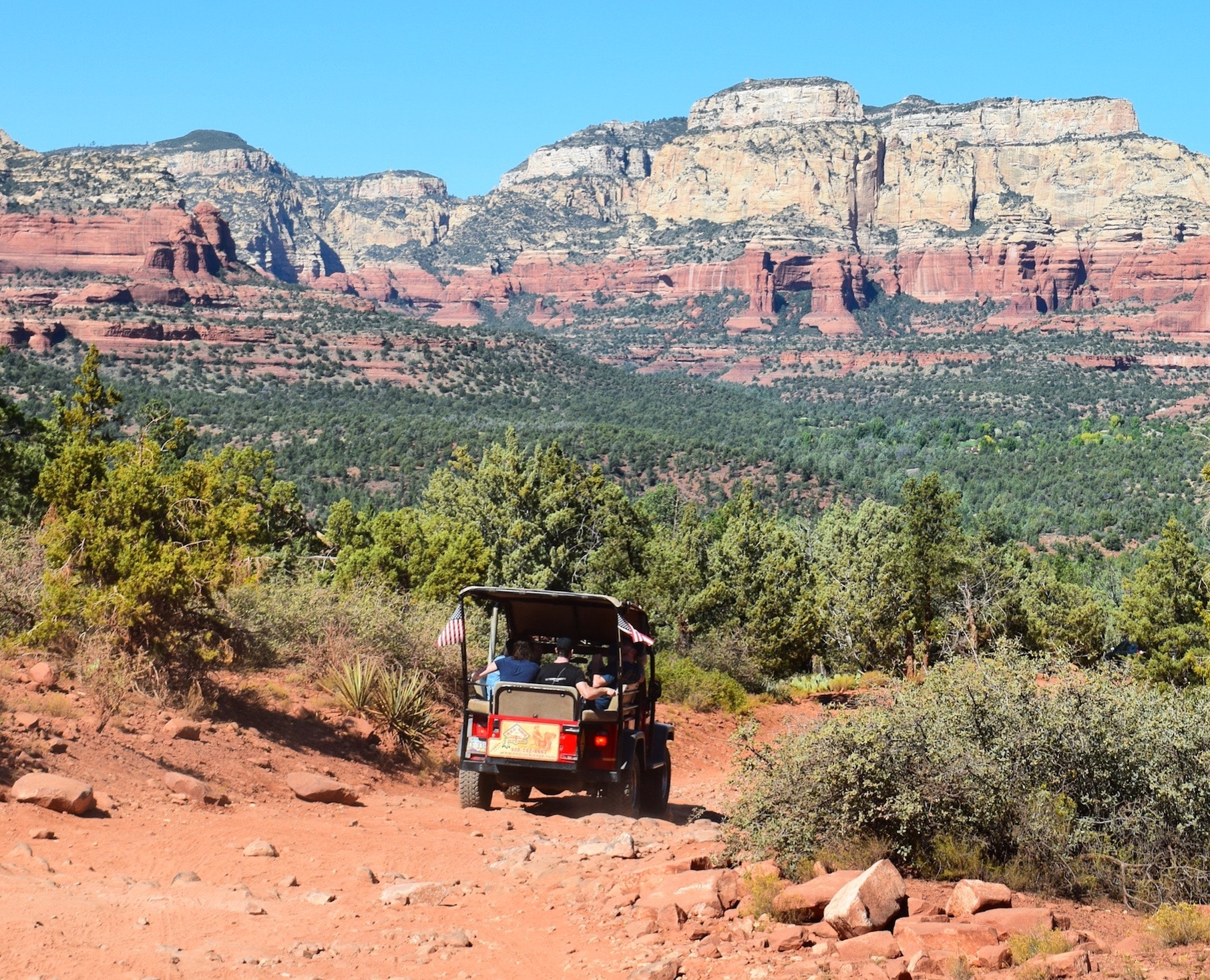 Jeep Tour In Sedona Sedona Arizona United States