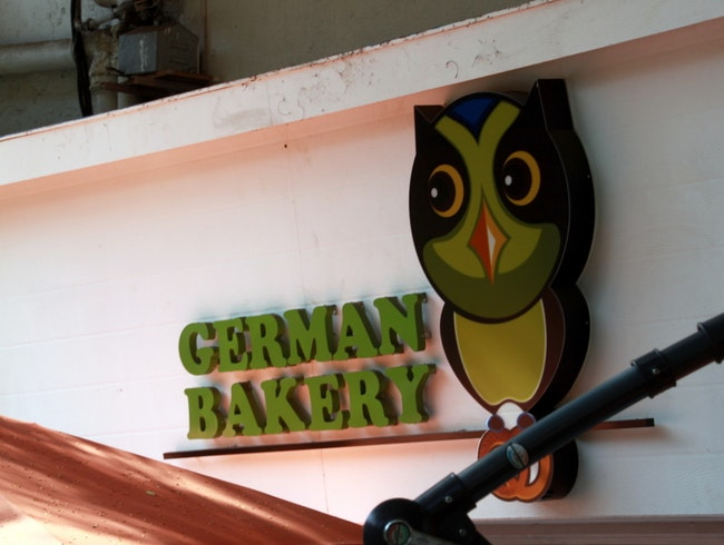 Unwind at the German Bakery