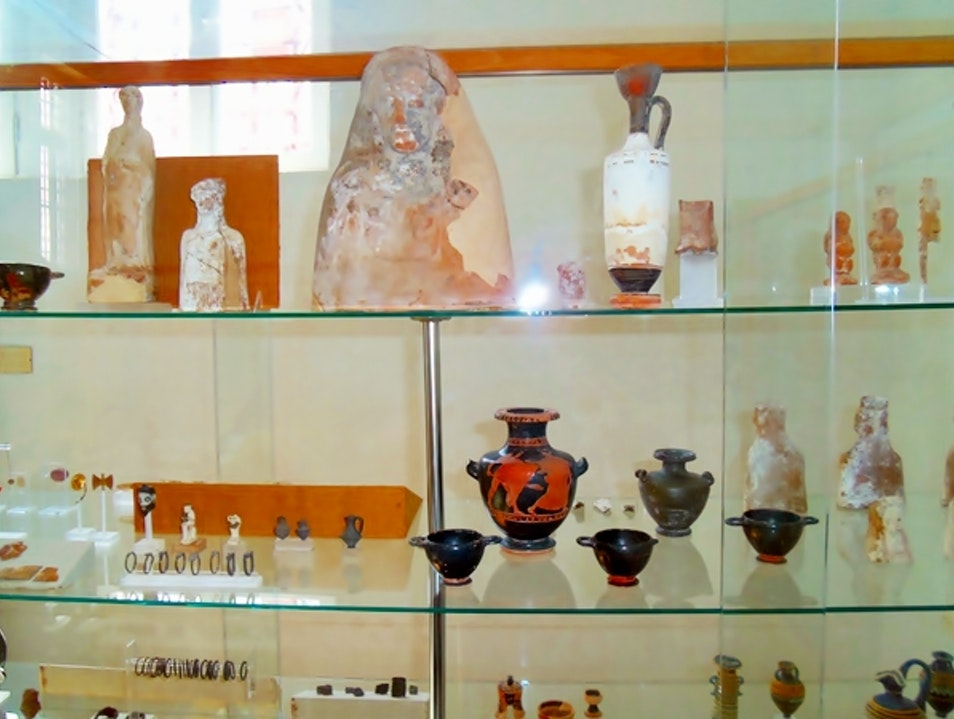 Archaeological museum downtown Chora, Mykonos Mykonos  Greece