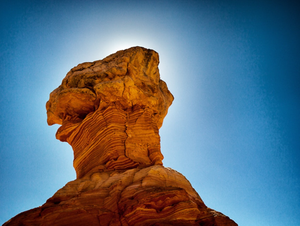 Breathtaking rock formations in Cottonwood Cove (South Coyote Buttes)