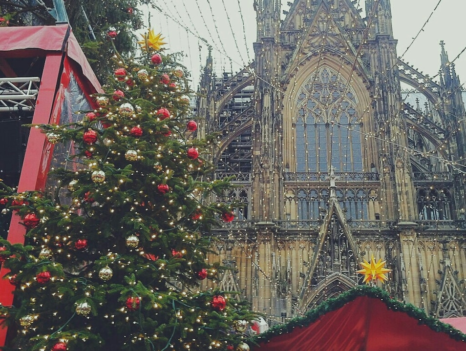 Weihnachtsmarkt Cologne  Germany
